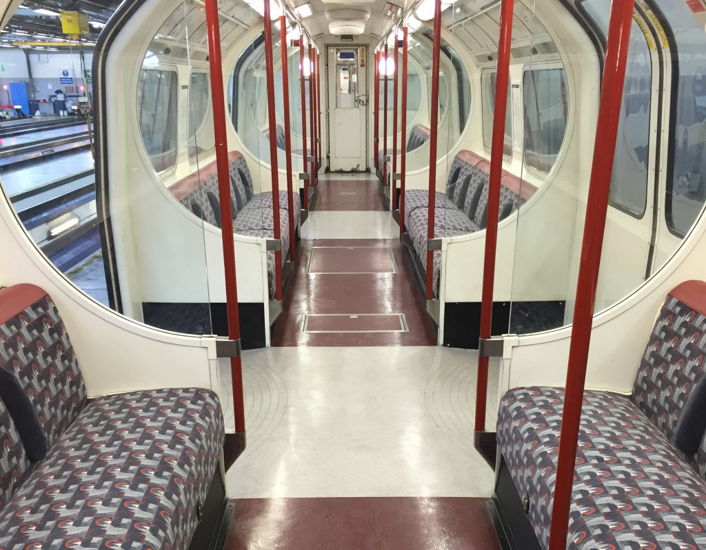 Bakerloo new seat and floor