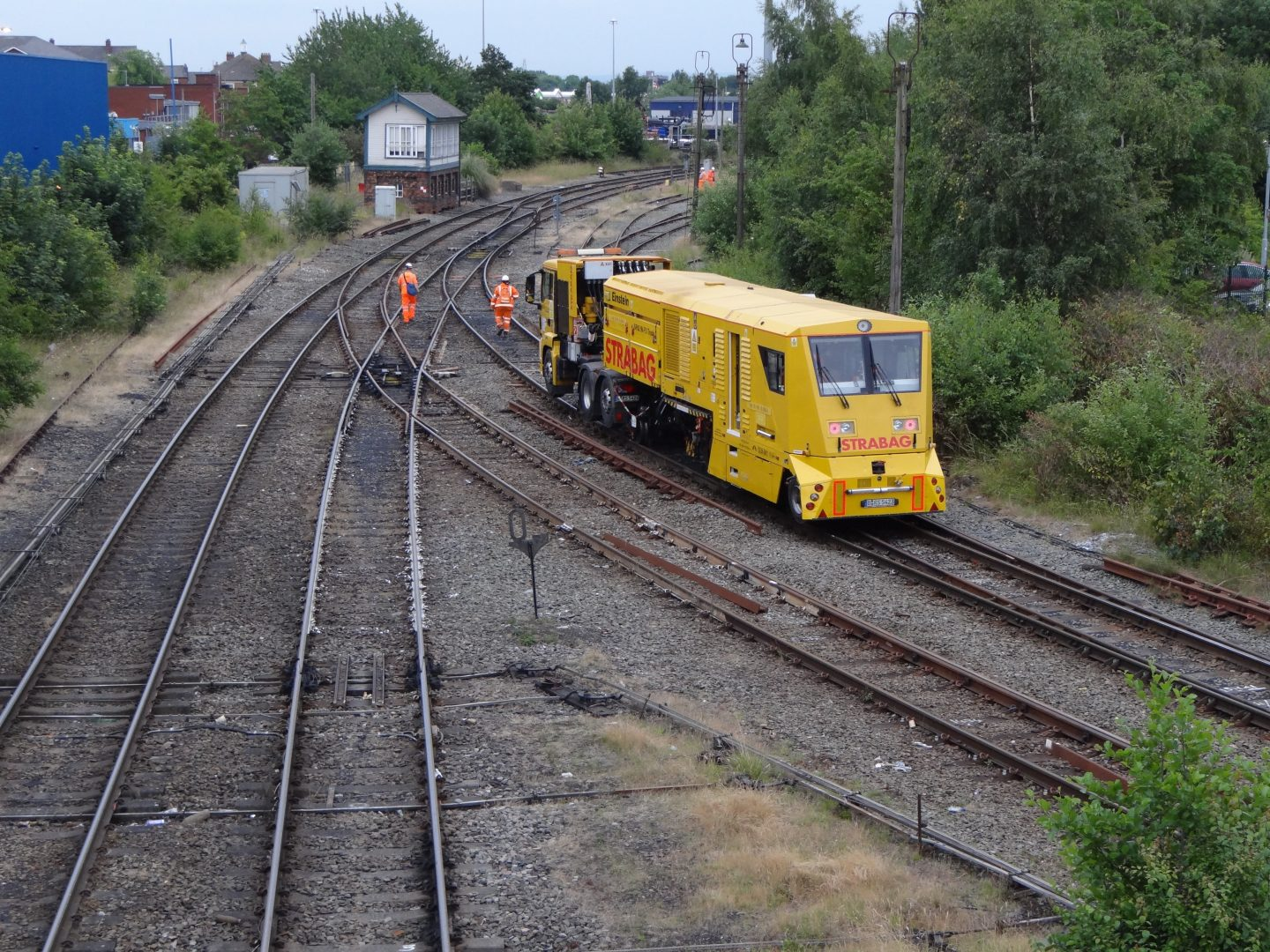 Milling brings a new lease of life to damaged track