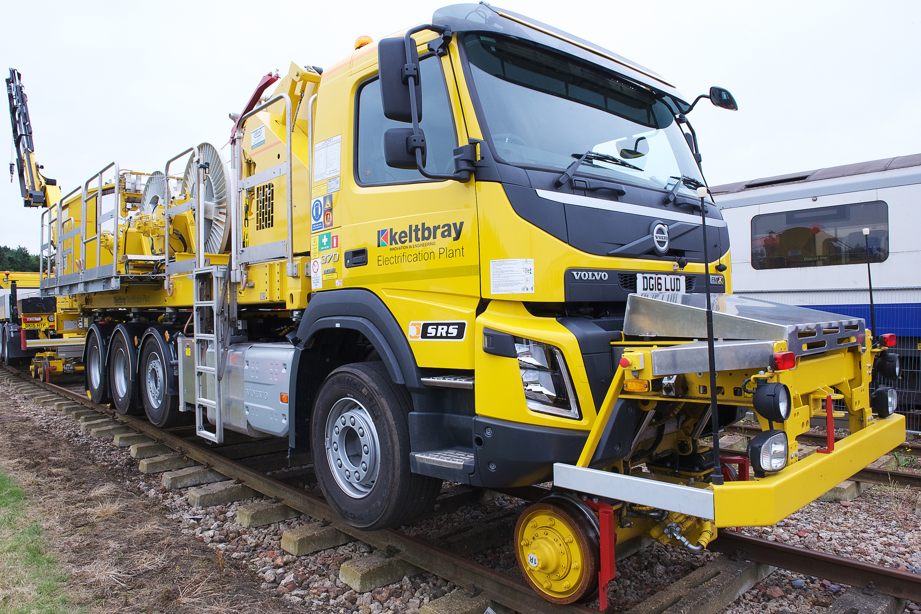 SRS Road-Rail Vehicles: Unbeatable Mobility on the Tracks