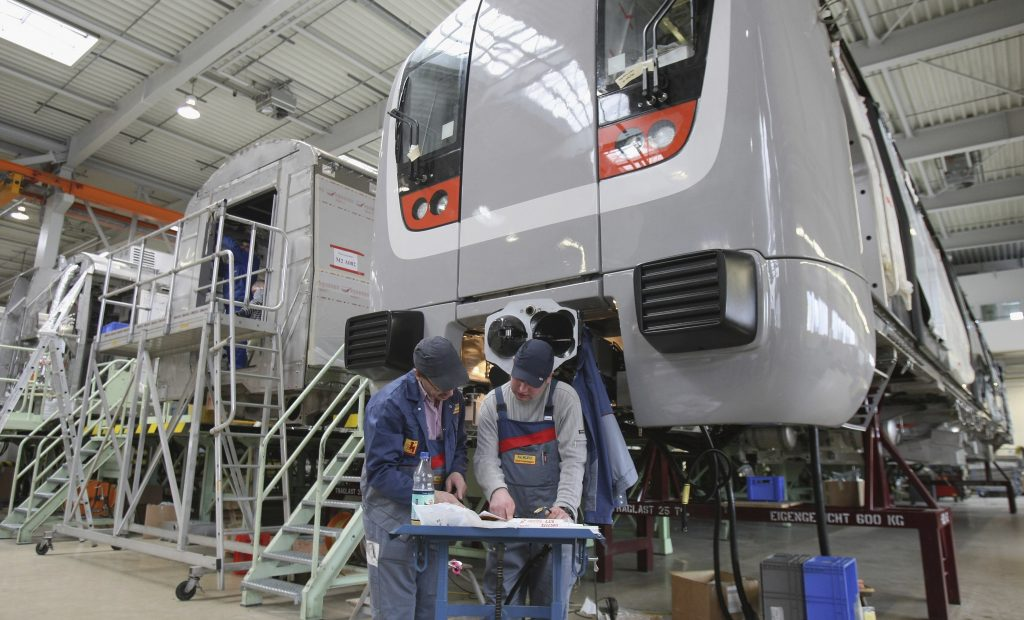 Bombardier Production Line