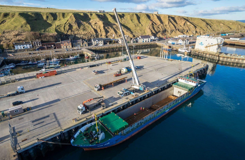 Shipping rails to Thurso