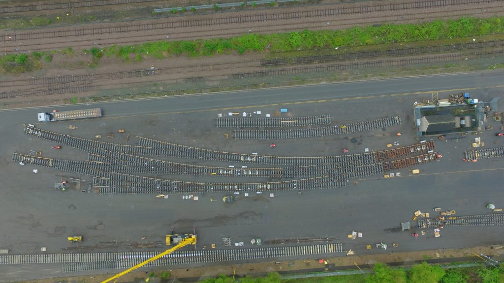 Cemex Rail's biggest rail crossing. Credit: Cemex.