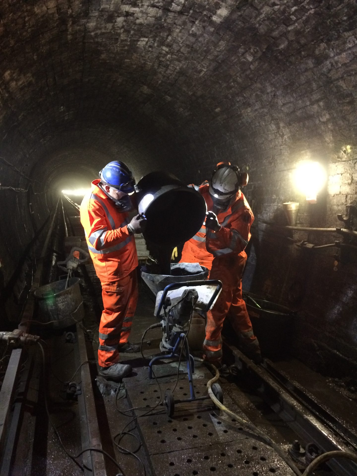Improving Glasgow Subway's tunnels