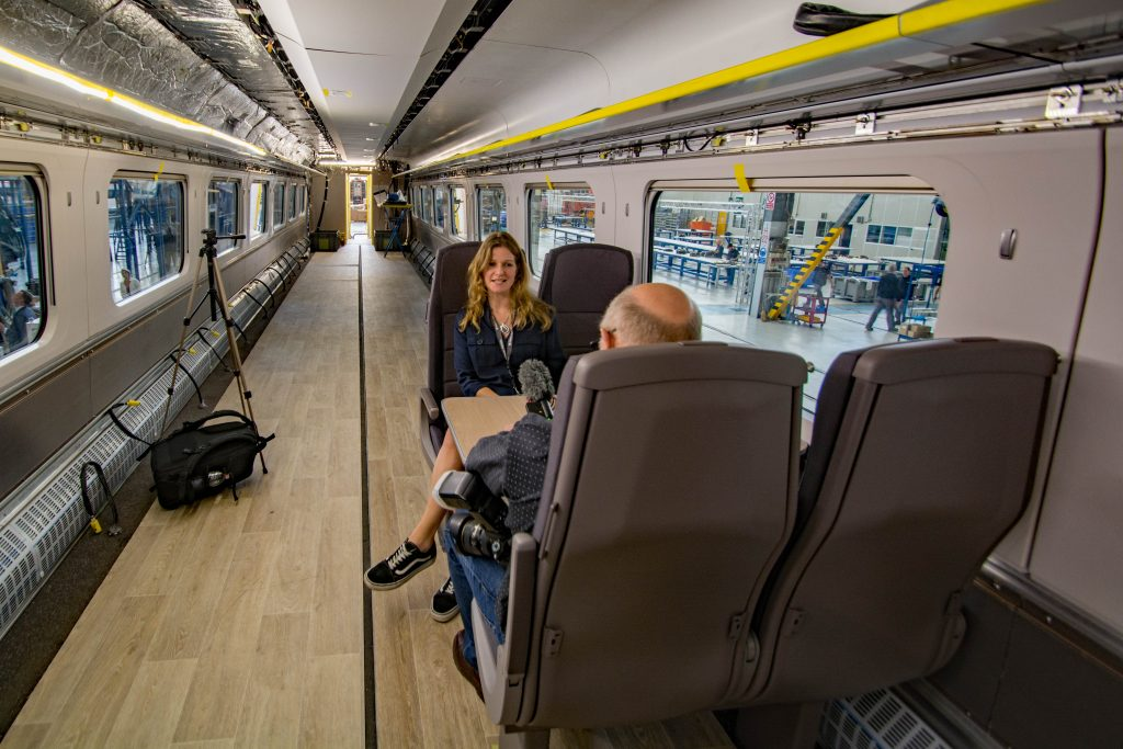 take a look around hitachi s pistoia train production plant rail engineer. Black Bedroom Furniture Sets. Home Design Ideas