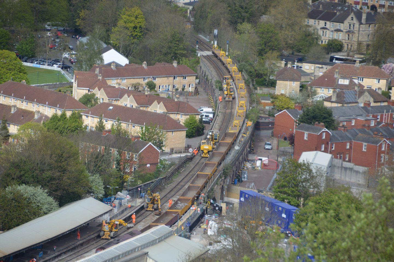 Modernisation of Bath Spa station