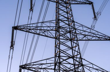 Aluminium cables have been used for power transmission since the 1930s. Credit: cwales/Shutterstock.