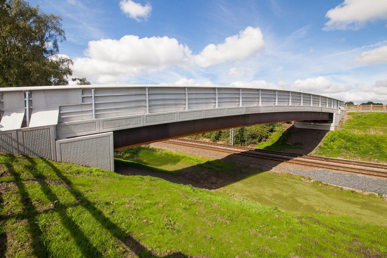 An award-winning bridge design in Wigan