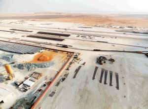 Aerial View of Al Mirfa site. [online]