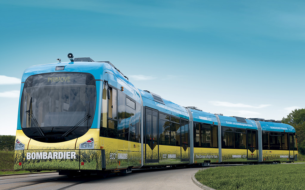 Battery-powered tram record – Rail Engineer